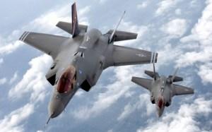 Lockheed F-35s