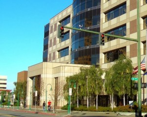 The Nesbett Courthouse. Image-UAA Justice Center