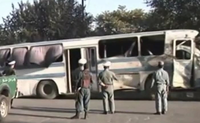 Taliban Suicide Bombers Hit Two Buses in Kabul