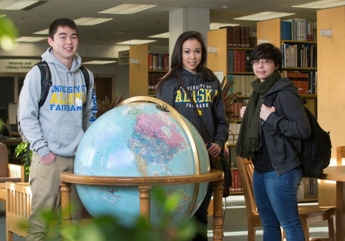 Crowley Presents Scholarships worth $10,000 to Four University of Alaska Fairbanks Students