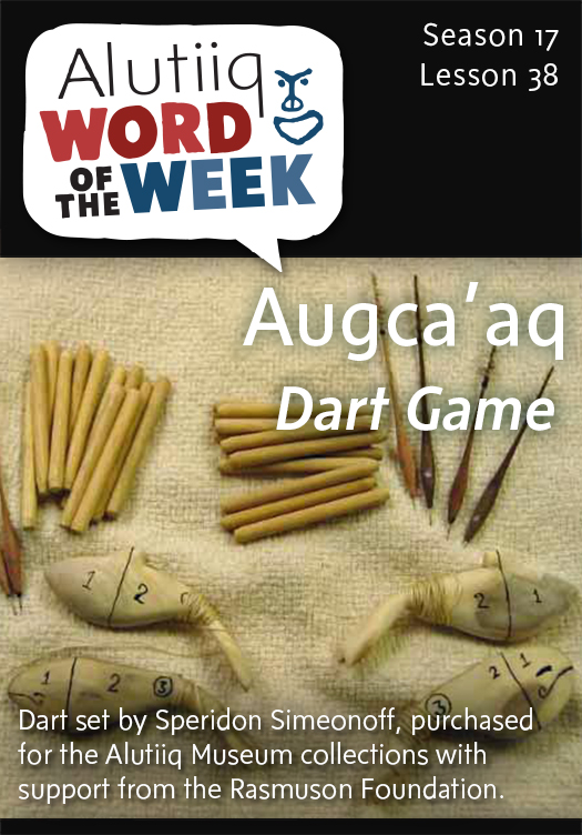 Dart Game-Alutiiq Word of the Week-March 15