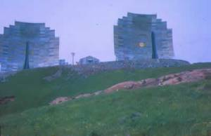 Military installation ion Adak Island. Image-DEC