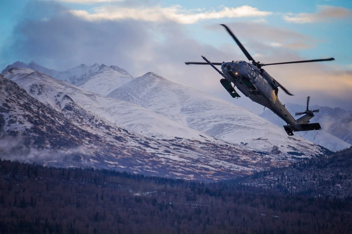 Alaska Air National Guard Rescues Hiker on Pioneer Peak
