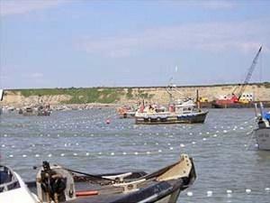 Bristol Bay fishermen taking part in annual Bristol Bay fisheries. Image-ADF&G