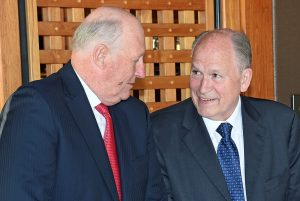 Governor Walker Meets with the King of Norway