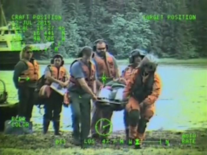 Coast Guard Medevacs Ailing Man Near Sitka