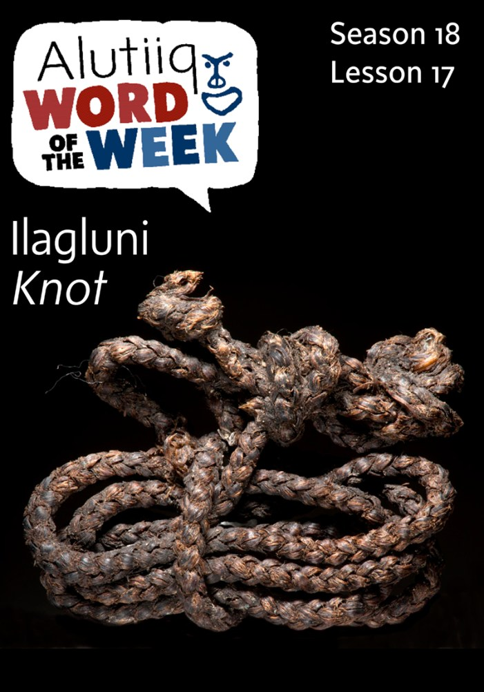 Knot-Alutiiq Word of the Week-October 18