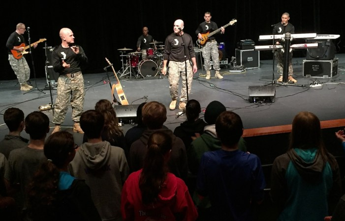 Army Band Inspires, Educates through School Concerts