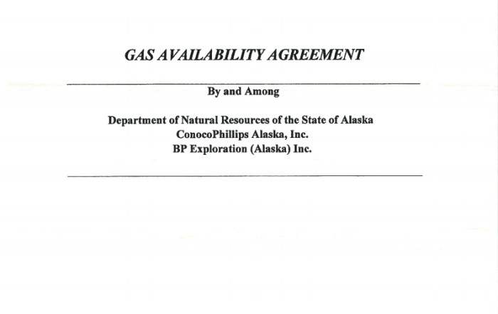 Governor Walker Makes Public Signed Gas Availability Agreements