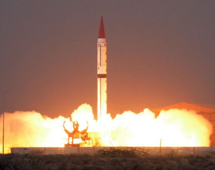 Pakistan Tests Nuclear Missile