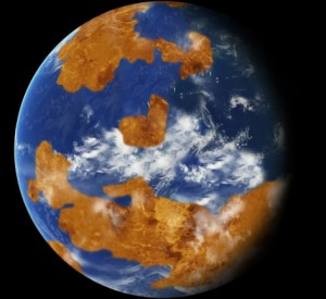 Observations suggest Venus may have had water oceans in its distant past. Image-NASA