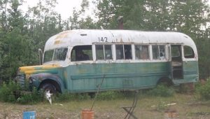 "The ""Magic Bus"" as it appeared in 2009. Image-Cropped image of Erik Halfacre photo. (Creative Commons)"