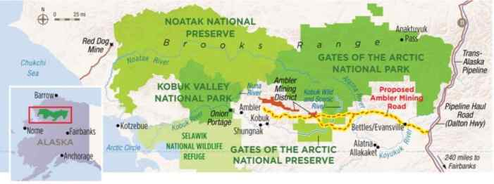 BLM Alaska to Analyze Proposed Access Road to Ambler Mining District