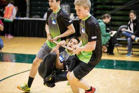 Traditional Games Promoting Sportsmanship Attract Athletes from Across the State