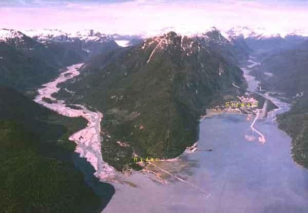 British Columbia Man Dies after Vehicle Plummets over Salmon River Embankment