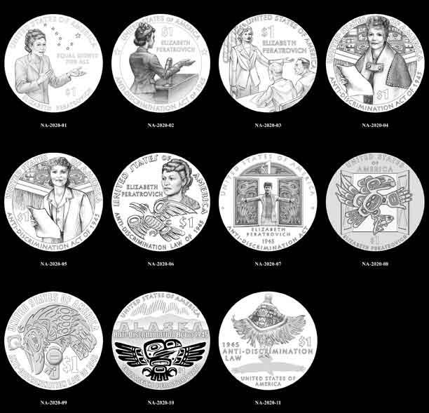 Alaska Native Civil Rights Leader Elizabeth Peratrovich to be Commemorated on U.S. $1 Coin