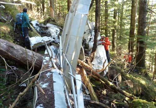 Bodies, Aircraft, in 2008 Crash Located on Admiralty Island