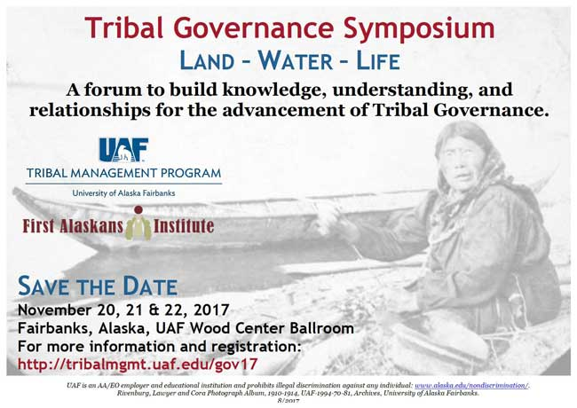 Symposium Will Advance Tribal Governance