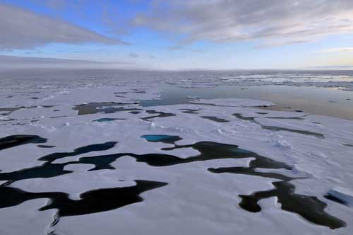 Driven by Open Ocean, Arctic Continues to Warm