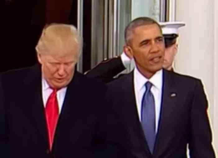 Trump Again Blames Obama for Russia Meddling Response