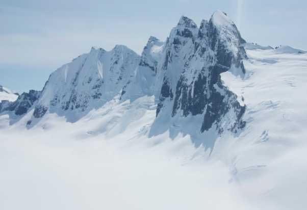 USCG, National Guard, Mountain Rescue Continue Search for Missing Mendenhall Tower Climbers