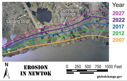 Newtok Awarded Grant to Acquire and Demolish Homes Threatened by Erosion