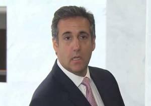 Trump's personal lawyer Michael Cohen. Image-Screengrab