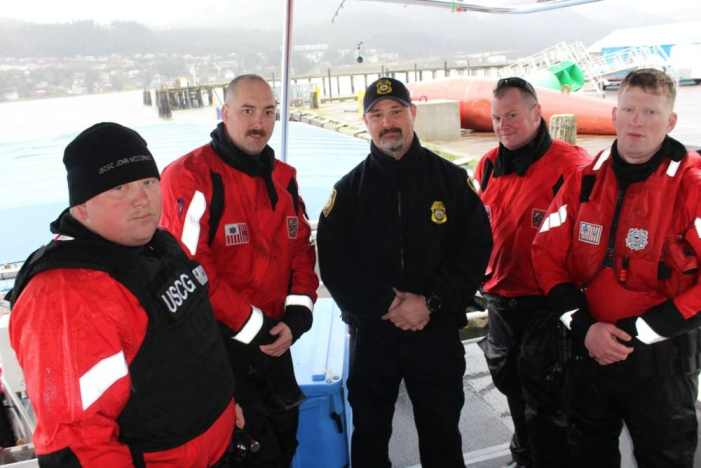 Coast Guard, NOAA Conduct Joint Boardings in the Gulf of Alaska