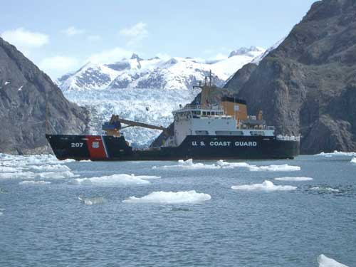 Coast Guard Cutter Maple Begins Historic Voyage through Northwest Passage