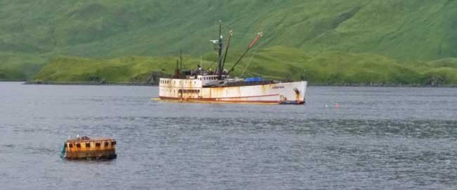 Coast Guard, State Continues Unified Command Response for F/V Akutan near Unalaska