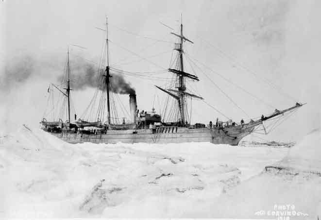 The Revenue Cutter Bear Turned over for Alaska Duty on This Date 1885