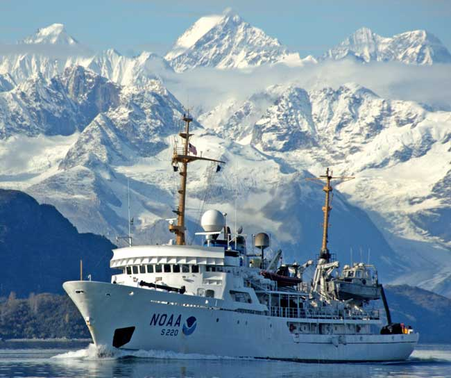 NOAA Surveys the Unsurveyed, Leading the Way in the U.S. Arctic