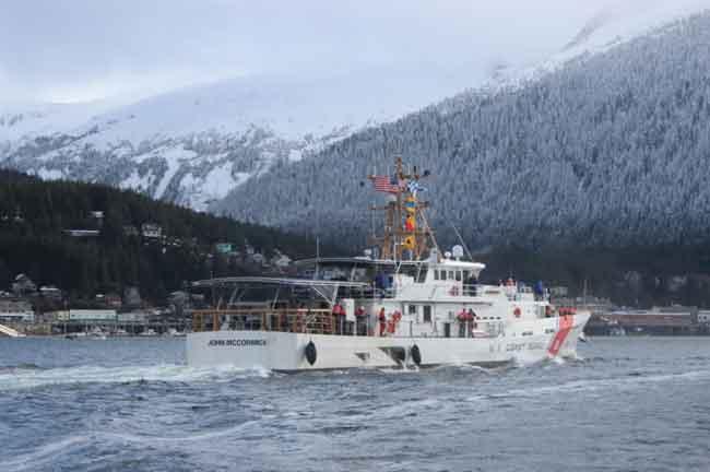 Fast Response Cutter John McCormick arrives in Ketchikan, Alaska