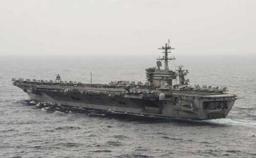 US Touts Unique Opportunity With Three Aircraft Carriers in the Pacific