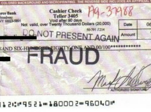Study Shows How Fake Check Scams Bait Consumers