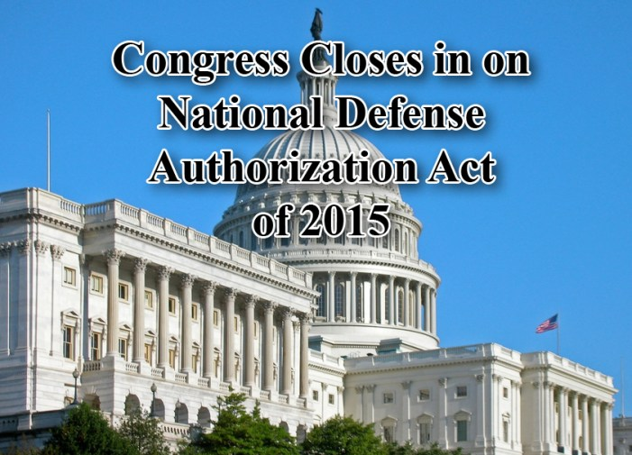 Congress Moves Closer to National Defense Reauthorization