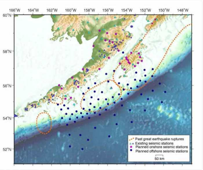 Land-sea Experiment will Track Earthquakes, Volcanoes along Alaska Peninsula