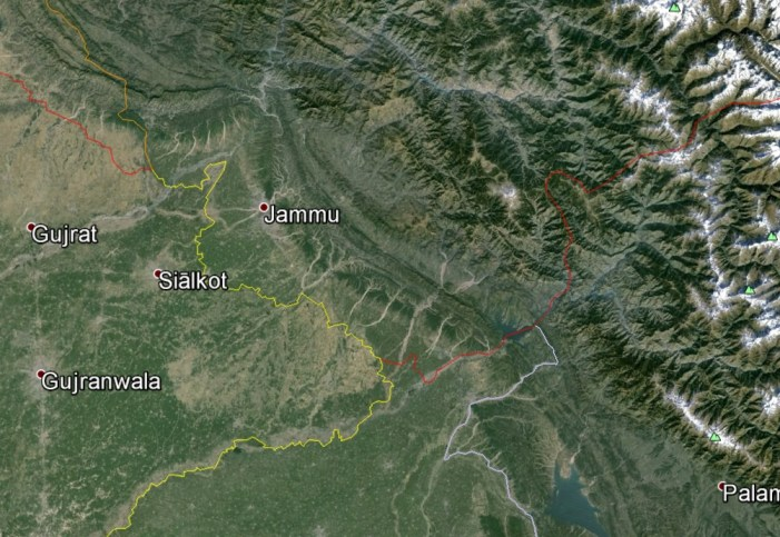 Study Finds Major Earthquake Threat from the Riasi Fault in the Himalayas