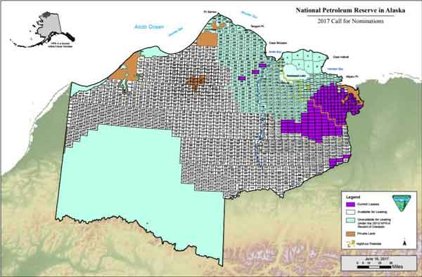 BLM Requests Nominations and Comments for NPR-A Oil & Gas Lease Sale