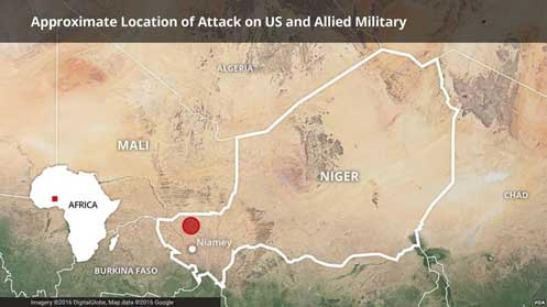 US Military Confirms Death of Three Soldiers in Niger