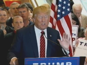 Presidential Candidate, Donald Trump, unveiled his tax plan in New York. Image-VOA