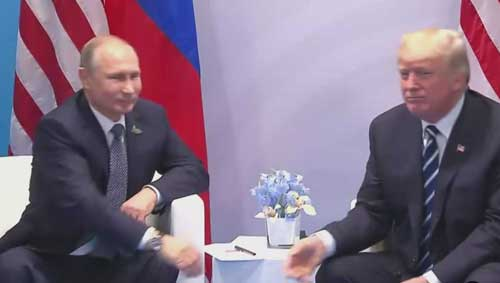 Trump, Putin Met Twice at G-20; US Says 2nd Encounter Was 'Brief Conversation'