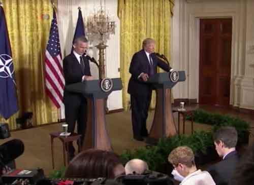 NATO No Longer Obsolete, Declares Trump