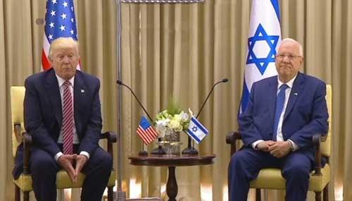 Trump Assails Iranian Aggression During Israel Visit