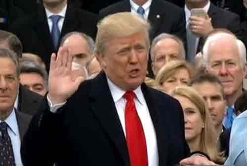 Donald Trump Sworn-in as 45th US President