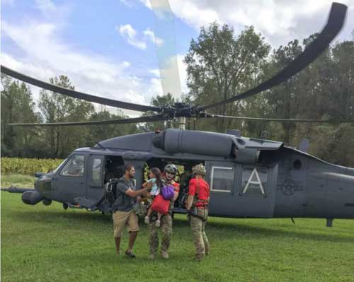 Air Guardsmen Unite to Save 19 During Hurricane Relief Operations