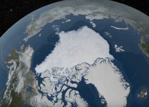 2018 Arctic Summertime Sea Ice Minimum Extent Tied for Sixth Lowest on Record