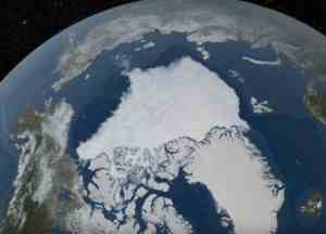 Arctic sea ice. Image-NASA