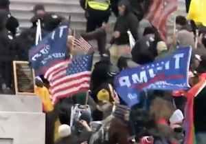 Capitol riot. Internet video screengrab