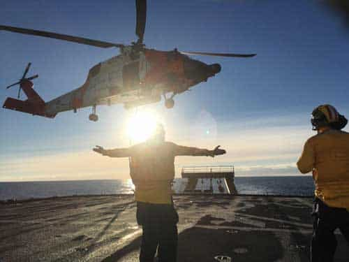 Coast Guard Icebreaker Returns Home Following 129-day Arctic deployment